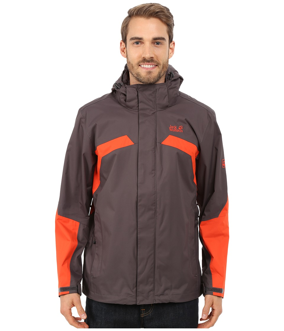 Jack Wolfskin - Topaz Jacket II (Dark Steel 1) Men