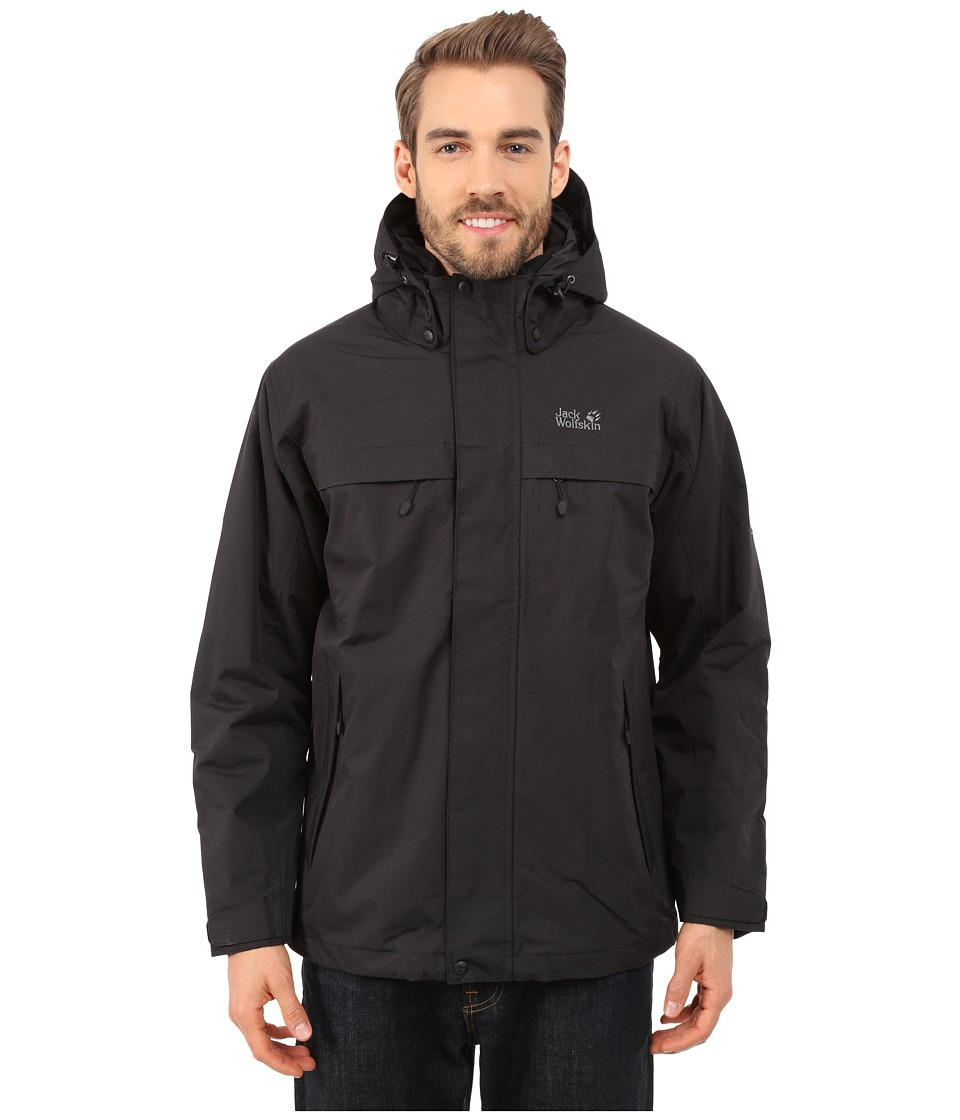 Jack Wolfskin - North Country (Black) Men's Coat
