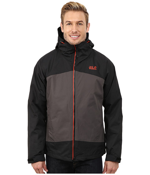 Jack Wolfskin - Frost Wave Jacket (Dark Steel) Men