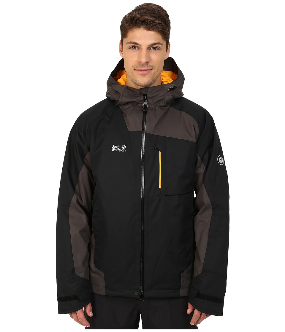 Jack Wolfskin - Snow Mountain Texapore Jacket (Black) Men