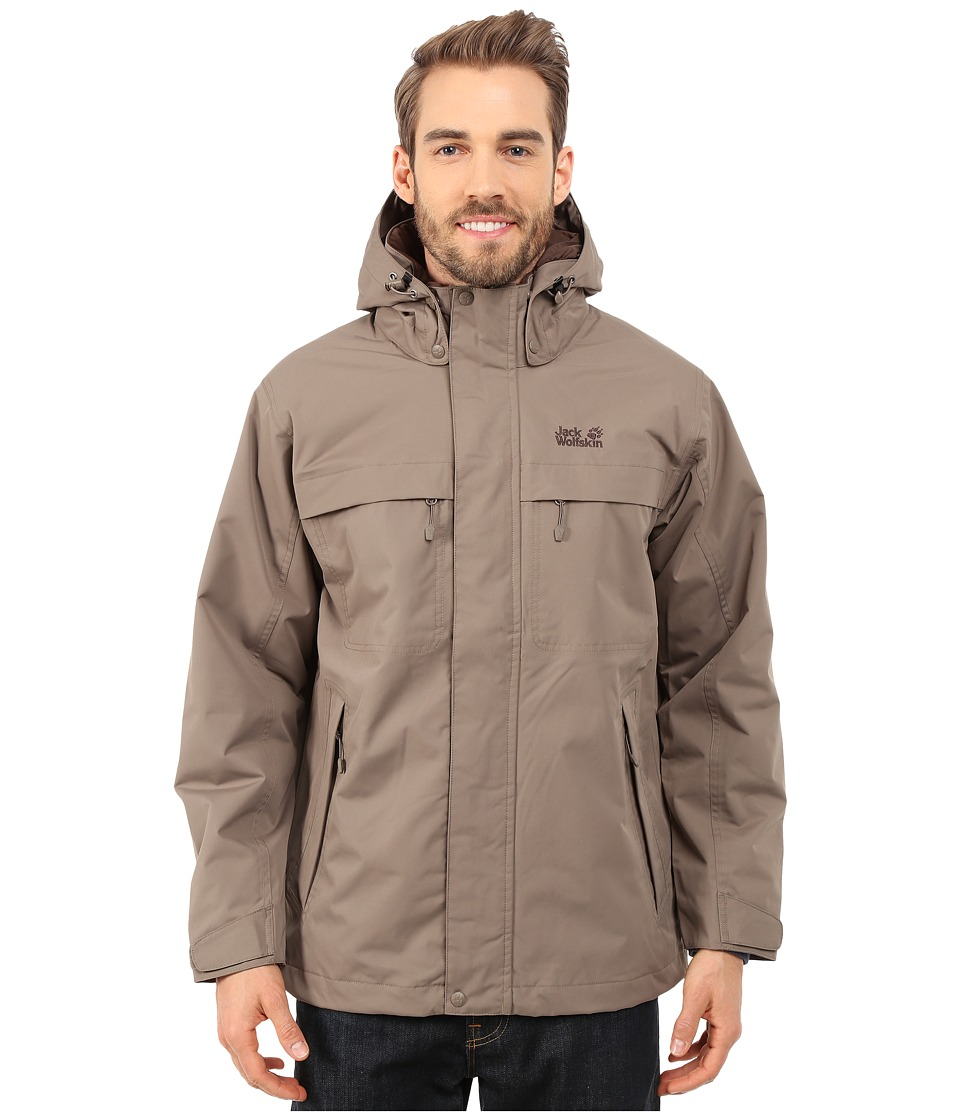 Jack Wolfskin - North Country (Siltstone) Men's Coat
