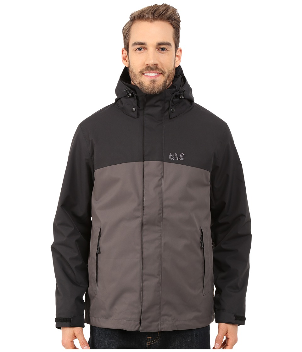 Jack Wolfskin - Montero Jacket (Dark Steel) Men's Coat