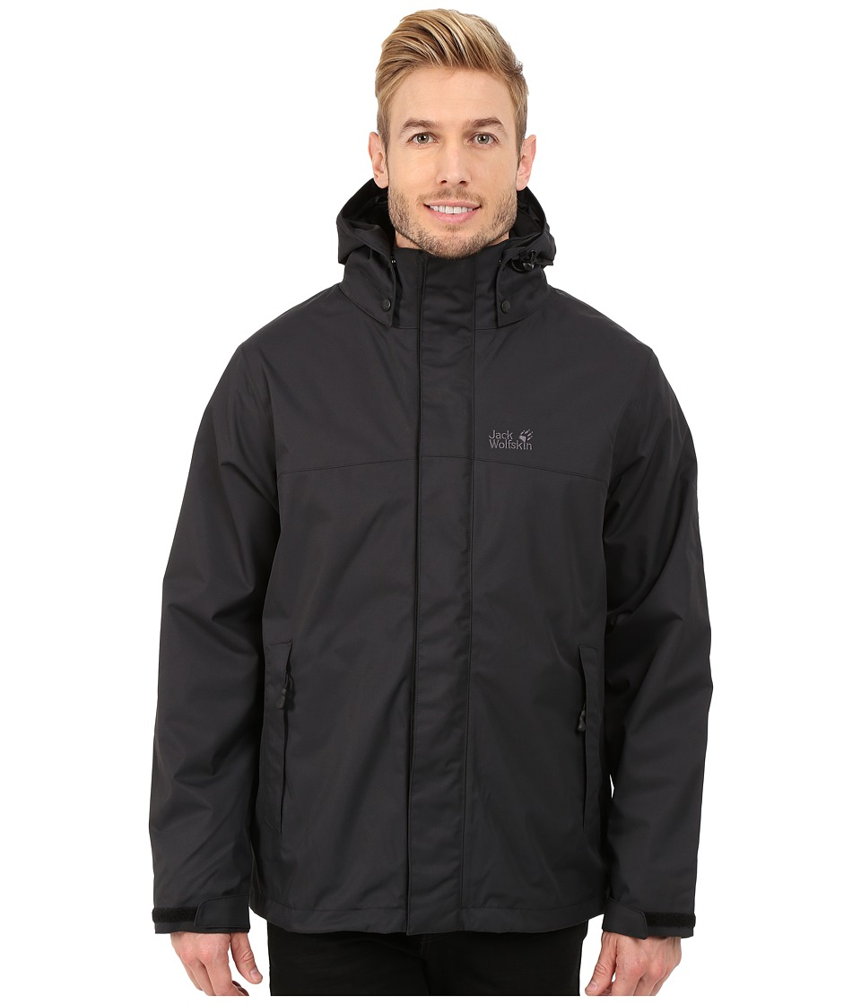 Jack Wolfskin - Montero Jacket (Black) Men's Coat