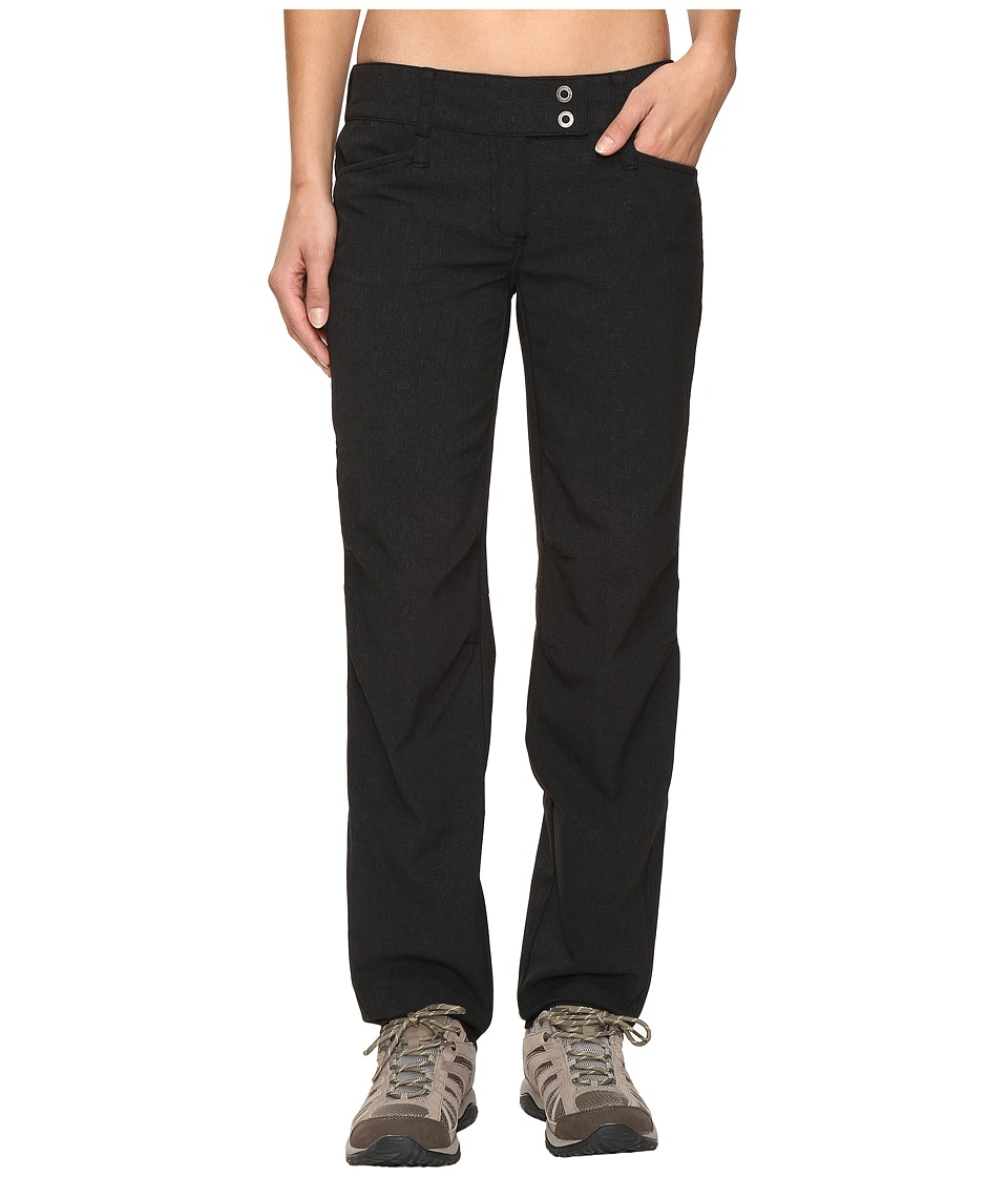 ExOfficio - Ometti Pants (Black Heather) Women's Casual Pants