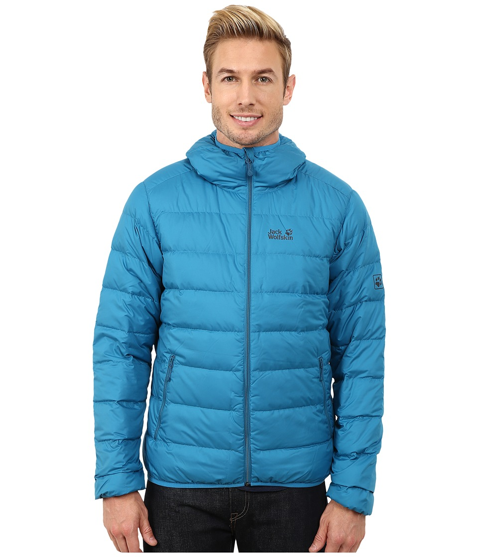 Jack Wolfskin - Helium Down Jacket (Dark Turquoise) Men's Coat