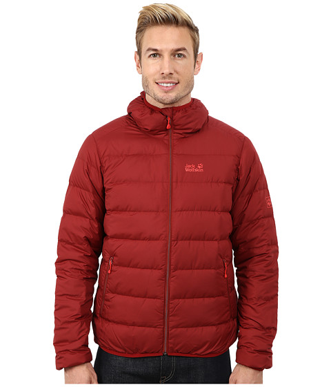Jack Wolfskin - Helium Down Jacket (Dried Tomato) Men's Coat