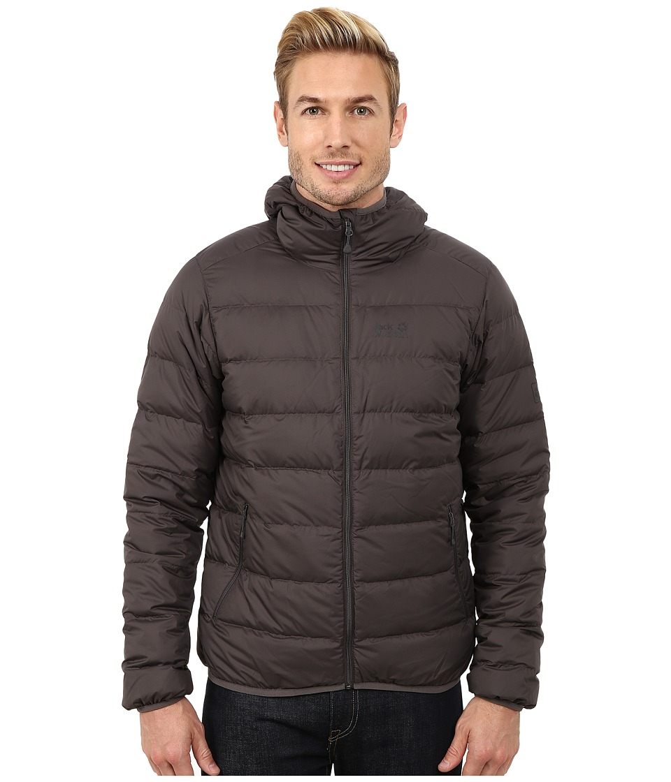 Jack Wolfskin - Helium Down Jacket (Dark Steel) Men's Coat