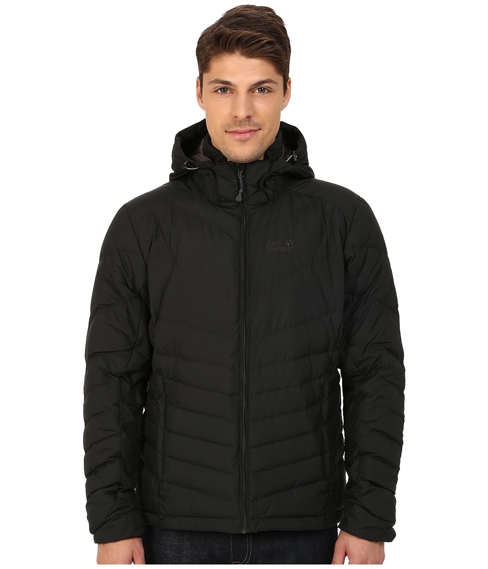 Jack Wolfskin - Selenium Down Jacket (Black) Men's Coat