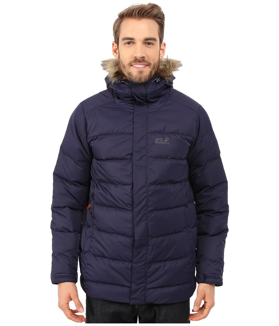 Jack Wolfskin - Terrenceville Insulated Jacket (Evening Blue) Men