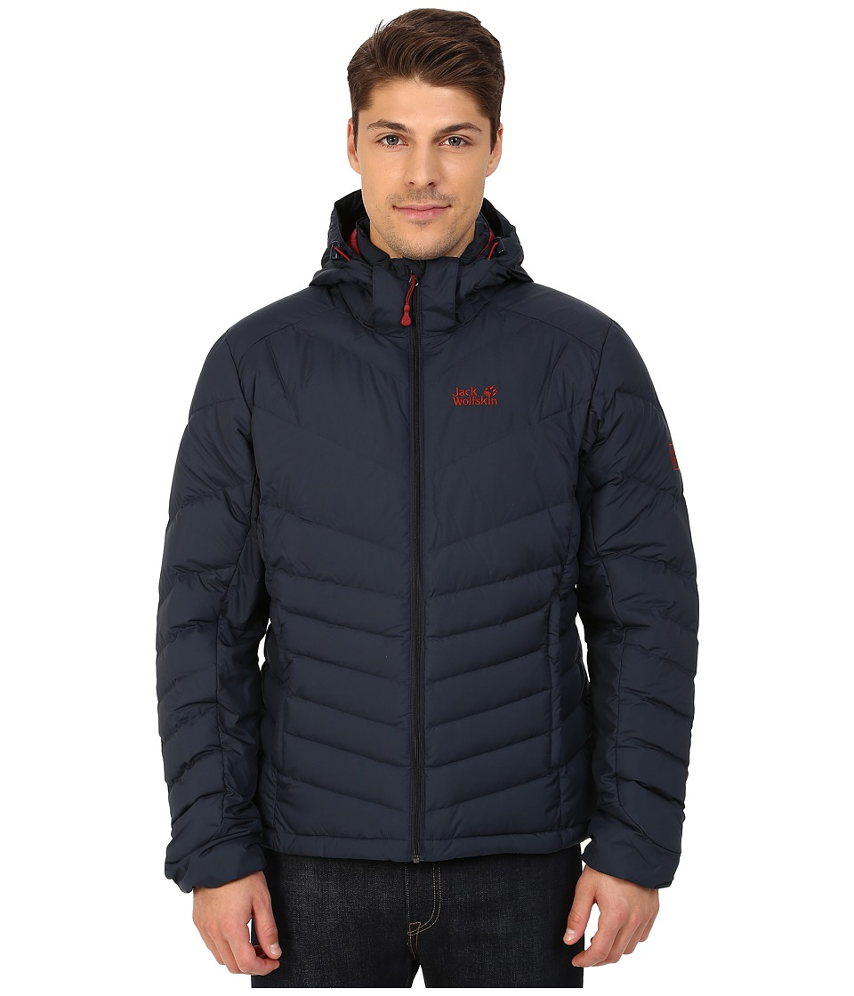 Jack Wolfskin - Selenium Down Jacket (Night Blue 1) Men's Coat