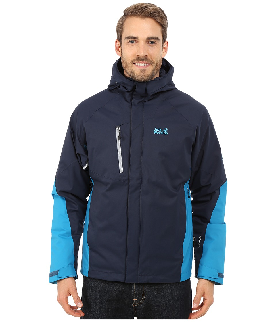 Jack Wolfskin - Troposphere DF O2+ Insulated Jacket (Night Blue) Men
