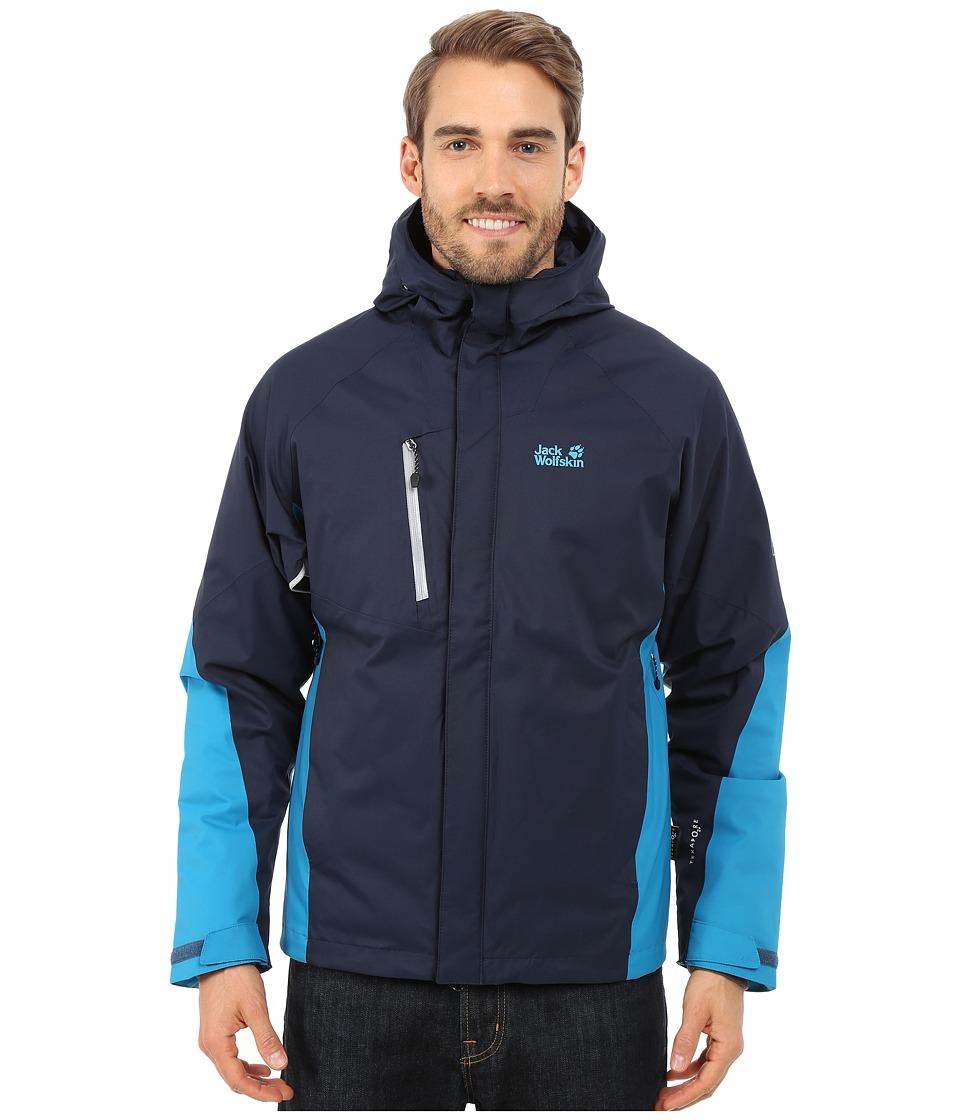Jack Wolfskin - Troposphere DF O2+ Insulated Jacket (Night Blue) Men