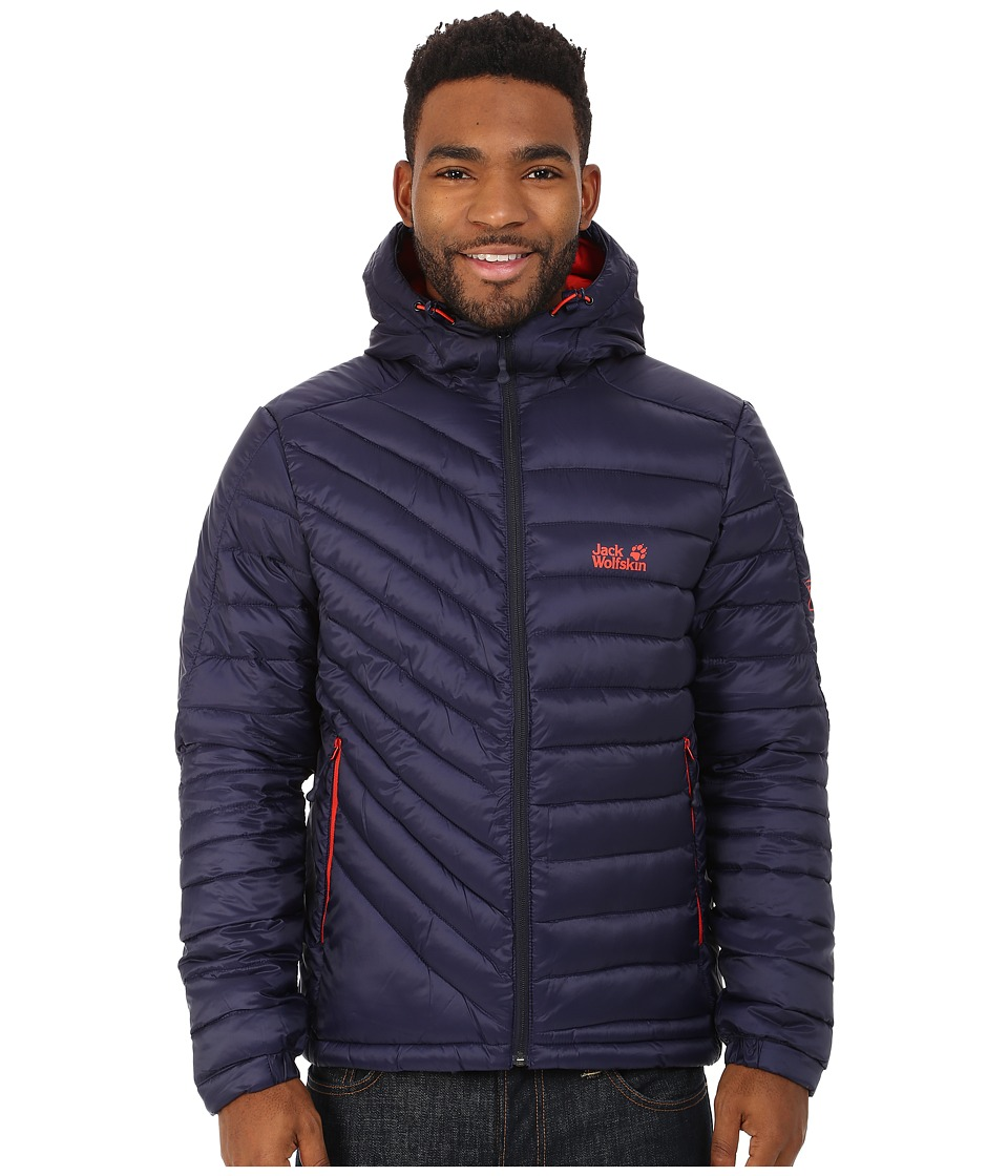 Jack Wolfskin - Cumulus Insulated Jacket (Evening Blue) Men's Coat