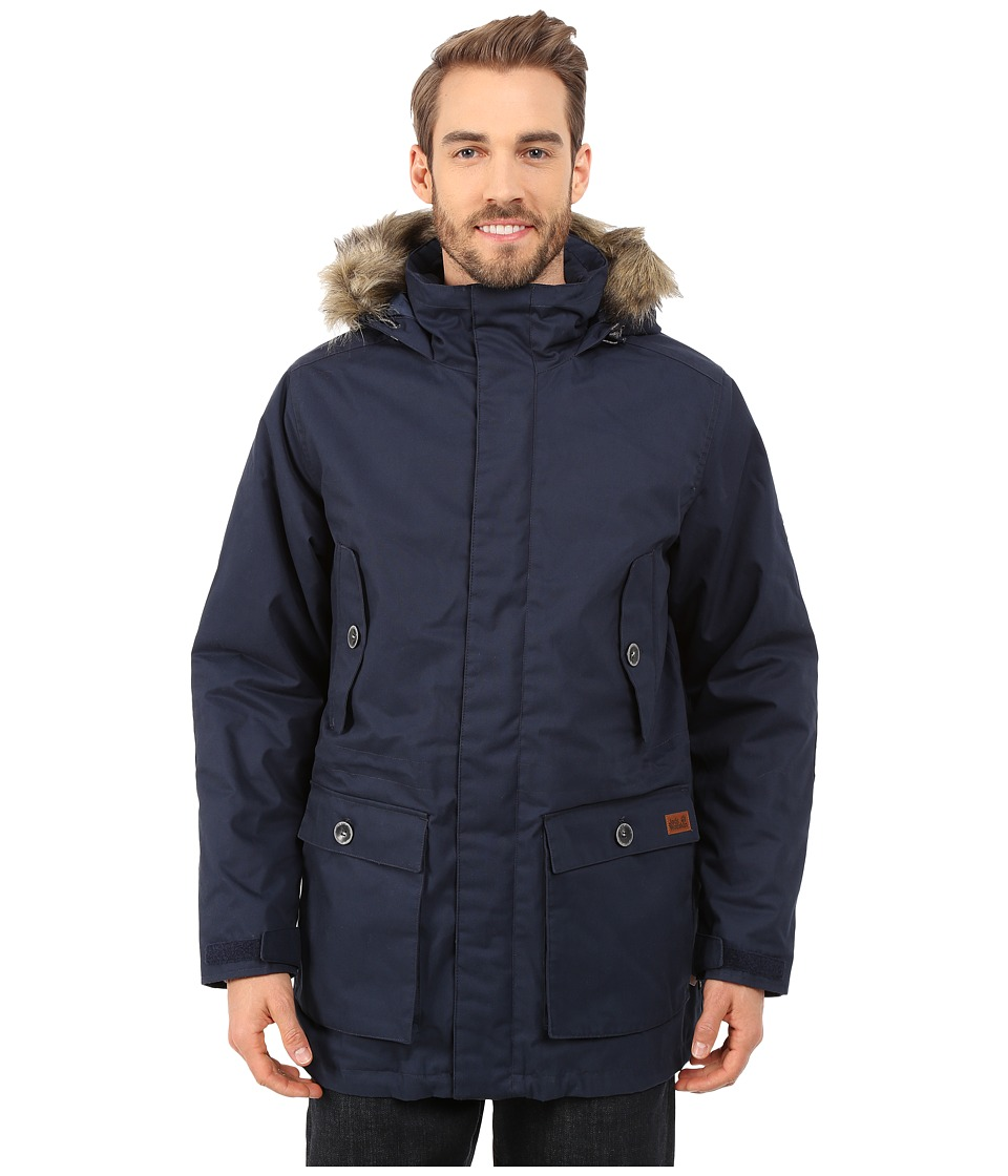 Jack Wolfskin - Millertown F65 Parka (Night Blue) Men