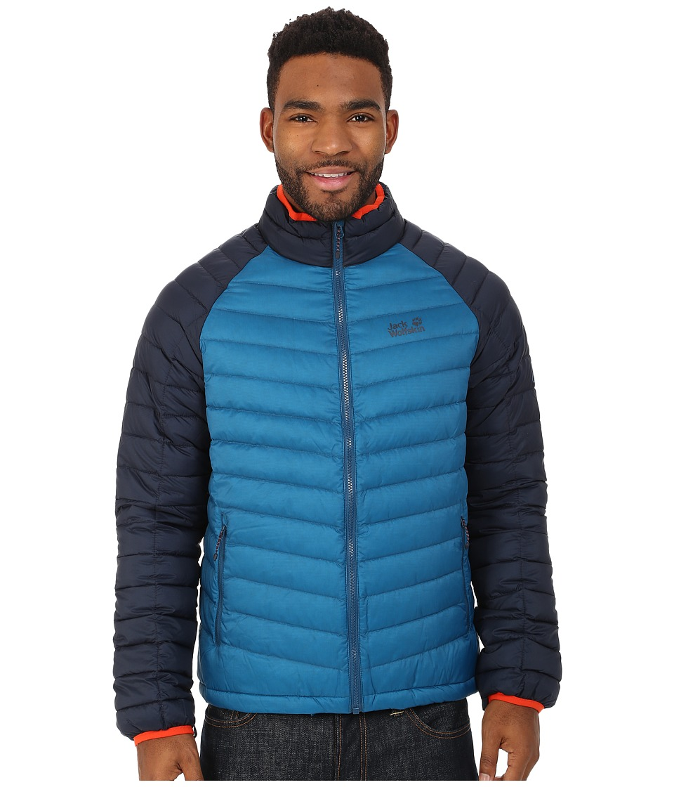 Jack Wolfskin - Zenon Basic Snap-In Jacket (Moroccan Blue) Men