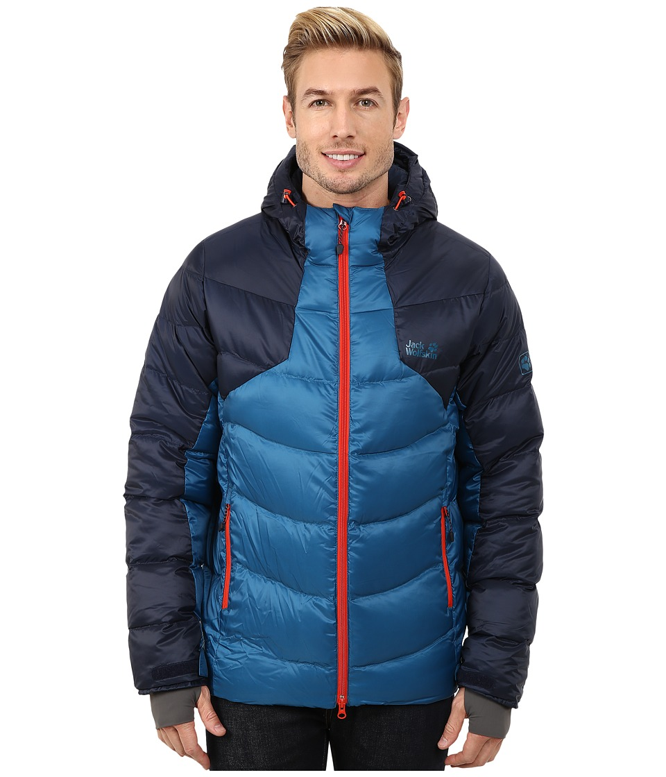 Jack Wolfskin - Svalbard II Down Jacket (Moroccan Blue) Men's Coat