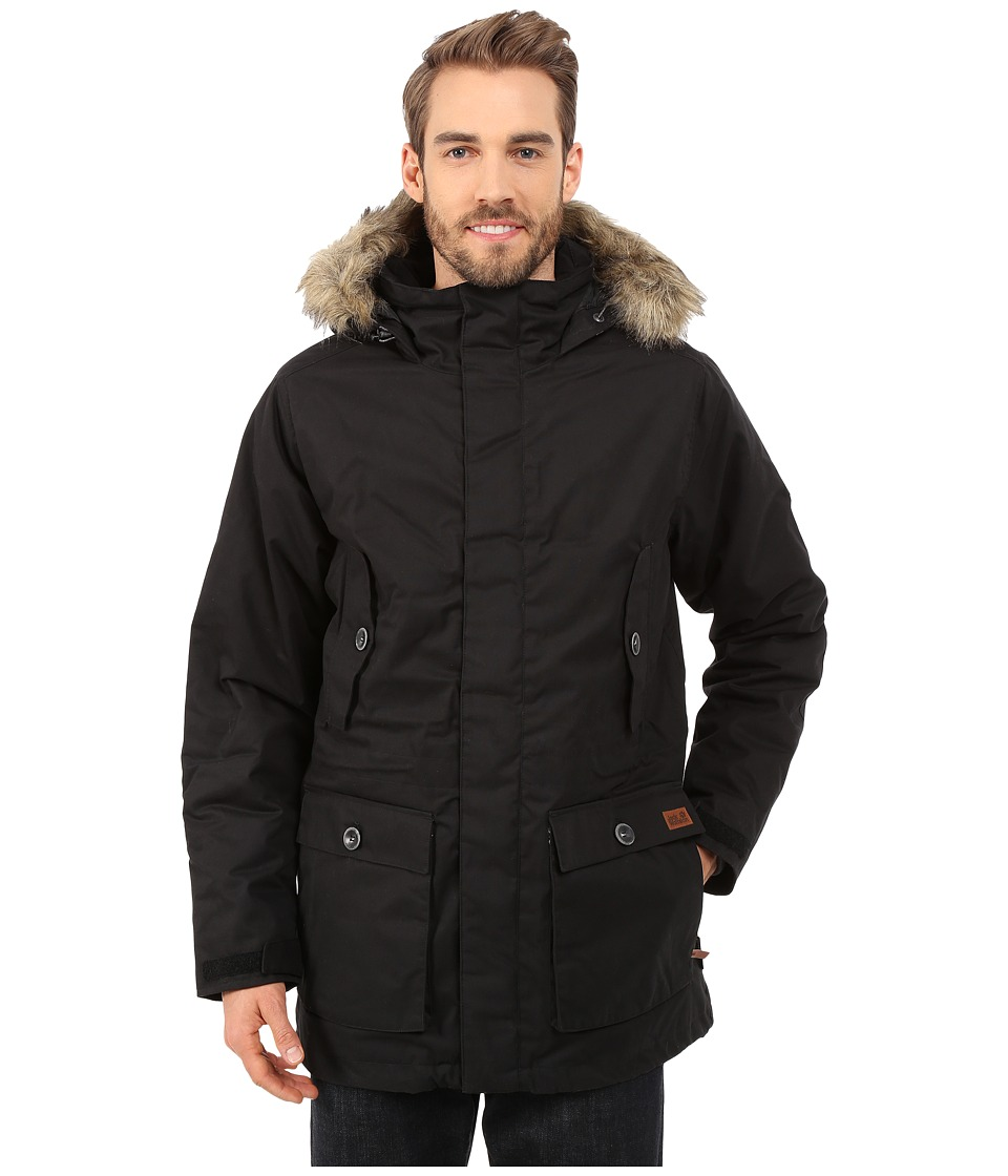 Jack Wolfskin - Millertown F65 Parka (Black) Men's Coat