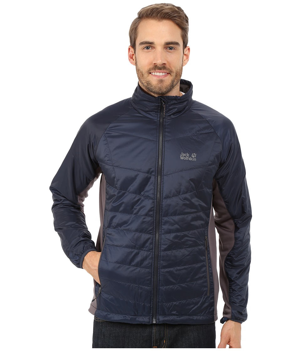 Jack Wolfskin - Thermosphere II Jacket (Night Blue) Men's Coat