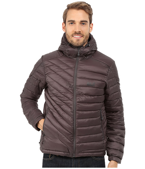 Jack Wolfskin - Cumulus Insulated Jacket (Dark Steel) Men's Coat