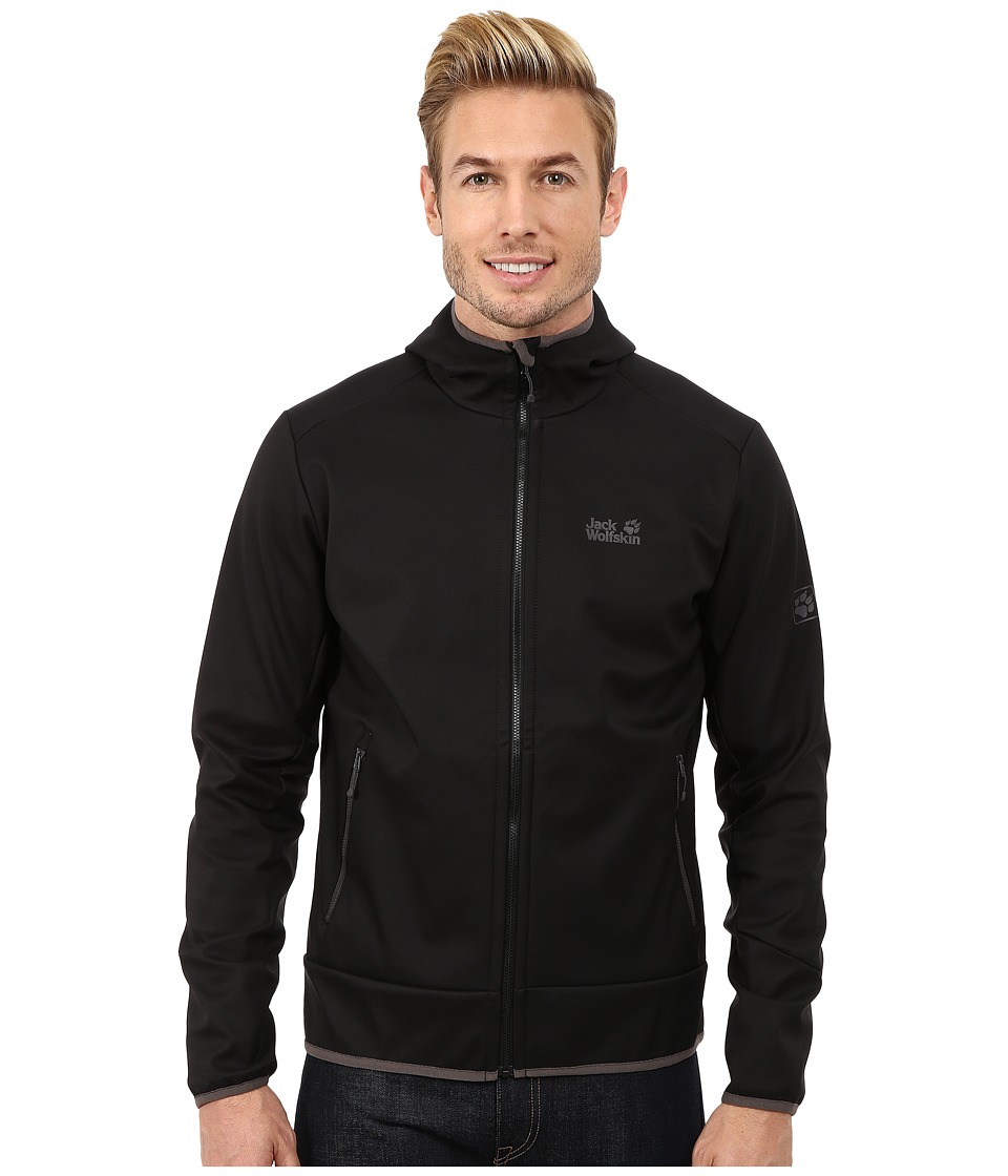 Jack Wolfskin - Glacier Valley II Jacket (Black) Men's Coat