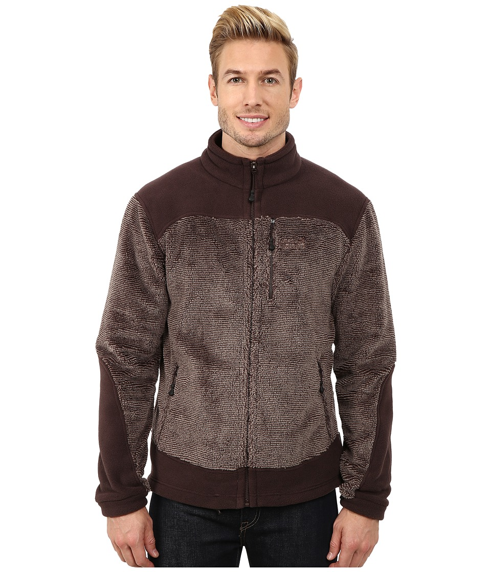 Jack Wolfskin - Pine Cone Jacket (Ground Stripes) Men