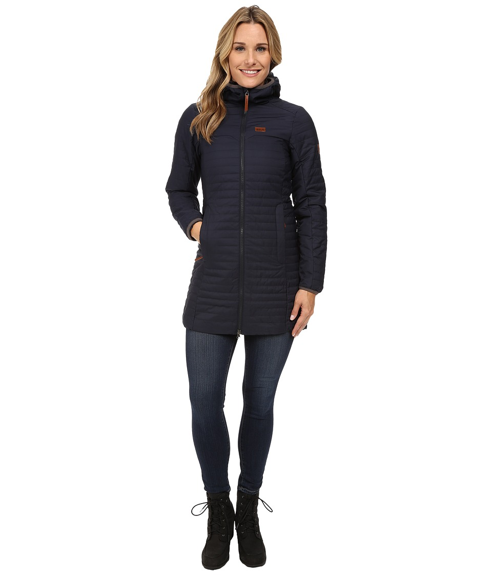 Jack Wolfskin - Clarenville Insulated Coat (Night Blue) Women's Coat