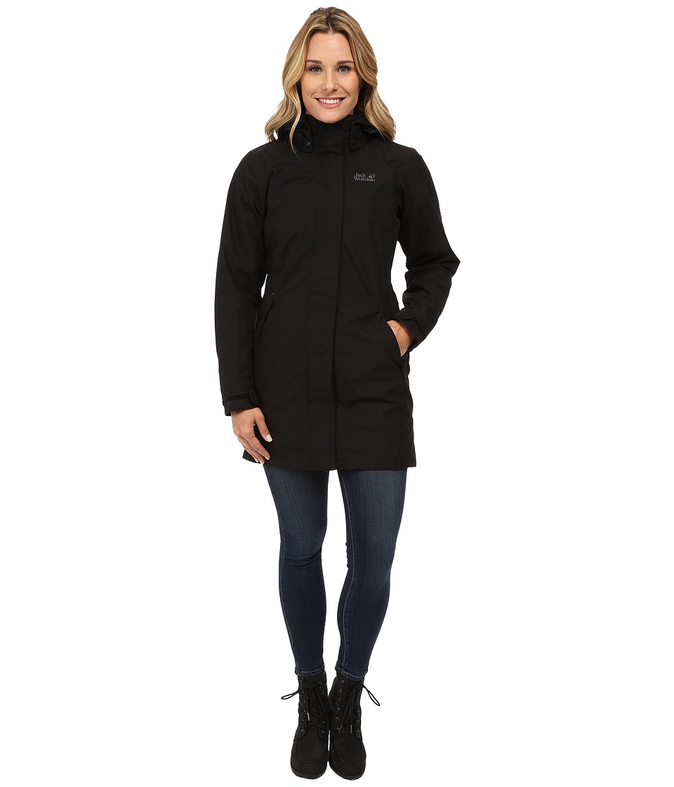 Jack Wolfskin Ottawa Coat (Black 2) Women