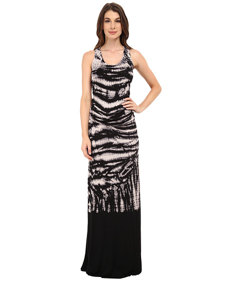 Young Fabulous & Broke - Hampton Maxi (Black Alligator Wash) Women's Dress