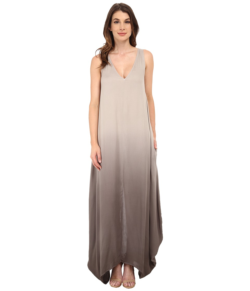 Young Fabulous & Broke - Ali Maxi (Olive Ombre) Women's Dress
