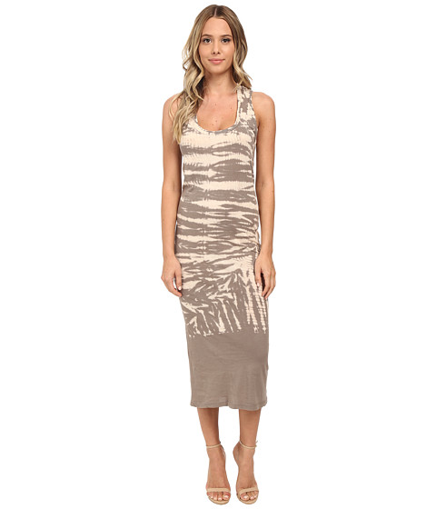 Young Fabulous & Broke - Denny Dress (Grey Alligator Wash) Women