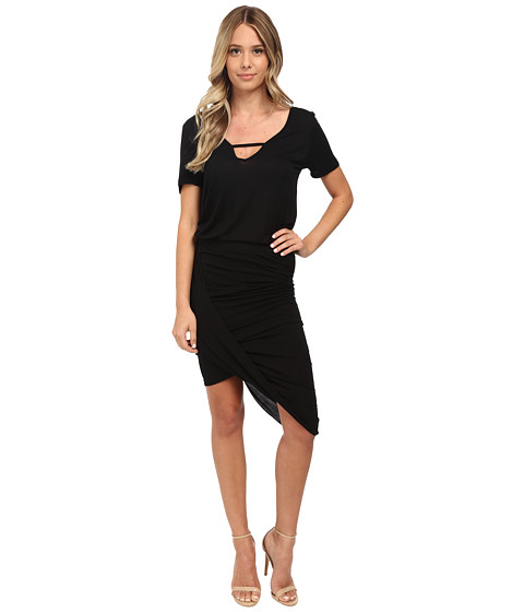 Young Fabulous & Broke - Paolo Dress (Black) Women's Dress