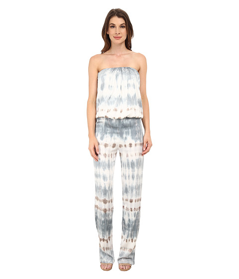 Young Fabulous & Broke - Keller Jumpsuit (Cobalt Hideaway Stripe) Women's Jumpsuit & Rompers One Piece