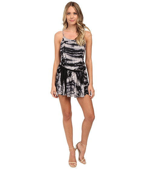 Young Fabulous & Broke - Perin Romper (Black Alligator Wash) Women's Jumpsuit & Rompers One Piece