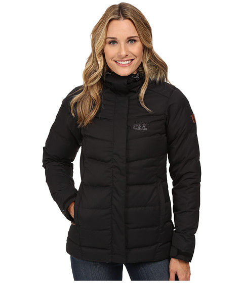 Jack Wolfskin - Terrenceville Insulated Jacket (Black) Women's Coat
