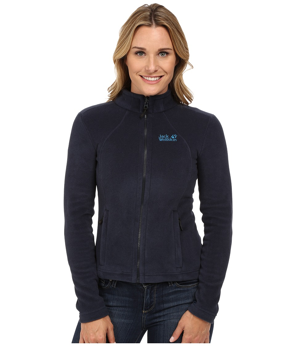 Jack Wolfskin - Moonrise Jacket (Night Blue) Women's Coat
