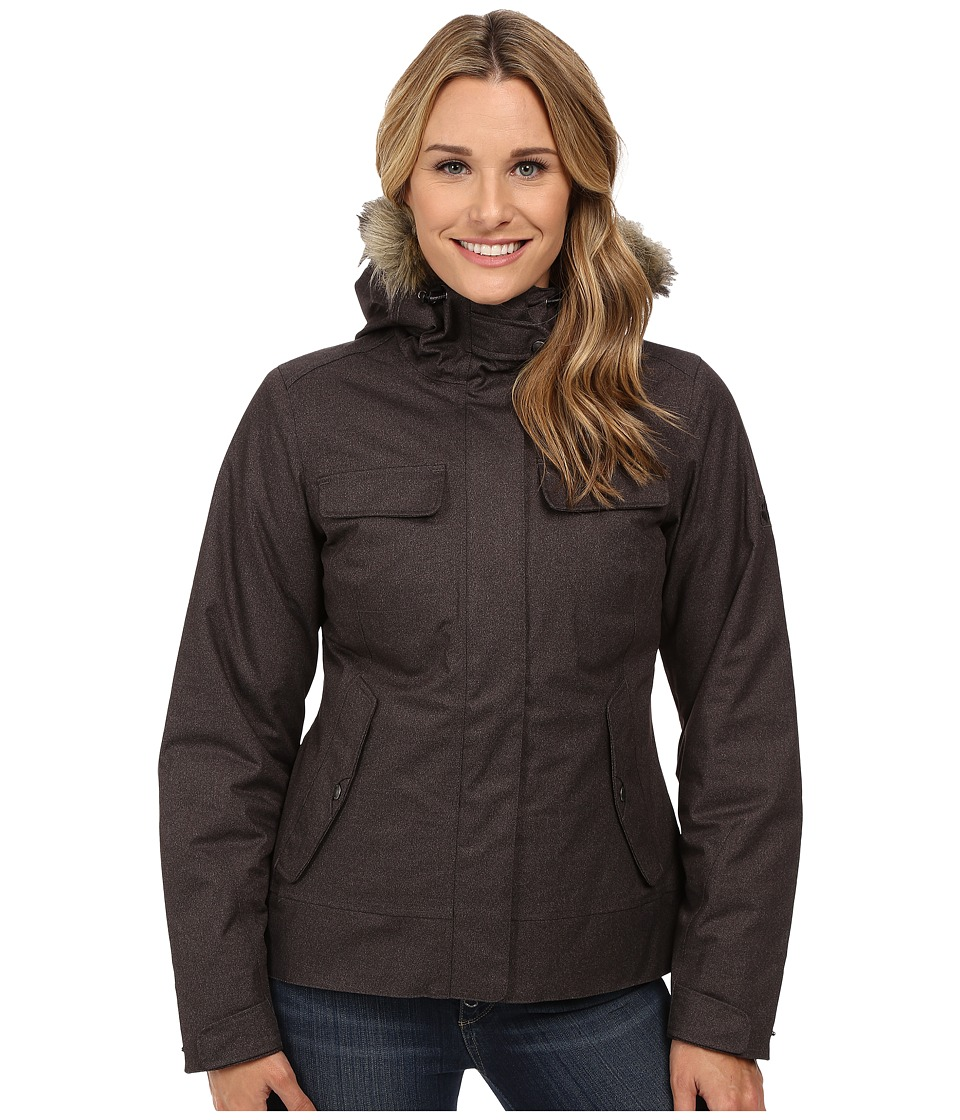 Jack Wolfskin - Cypress Mountain Jacket (Dark Steel) Women's Coat