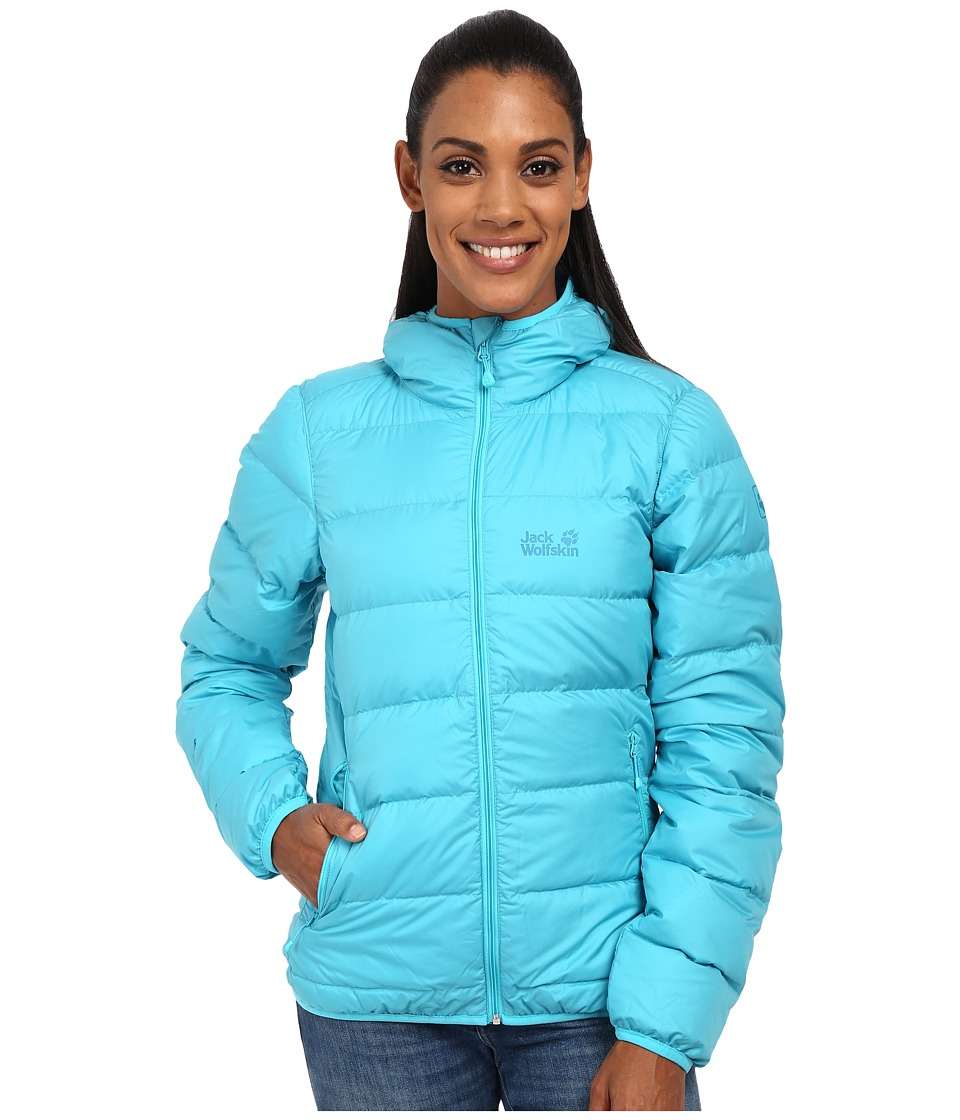 Jack Wolfskin - Helium Down Jacket (Lake Blue) Women's Coat