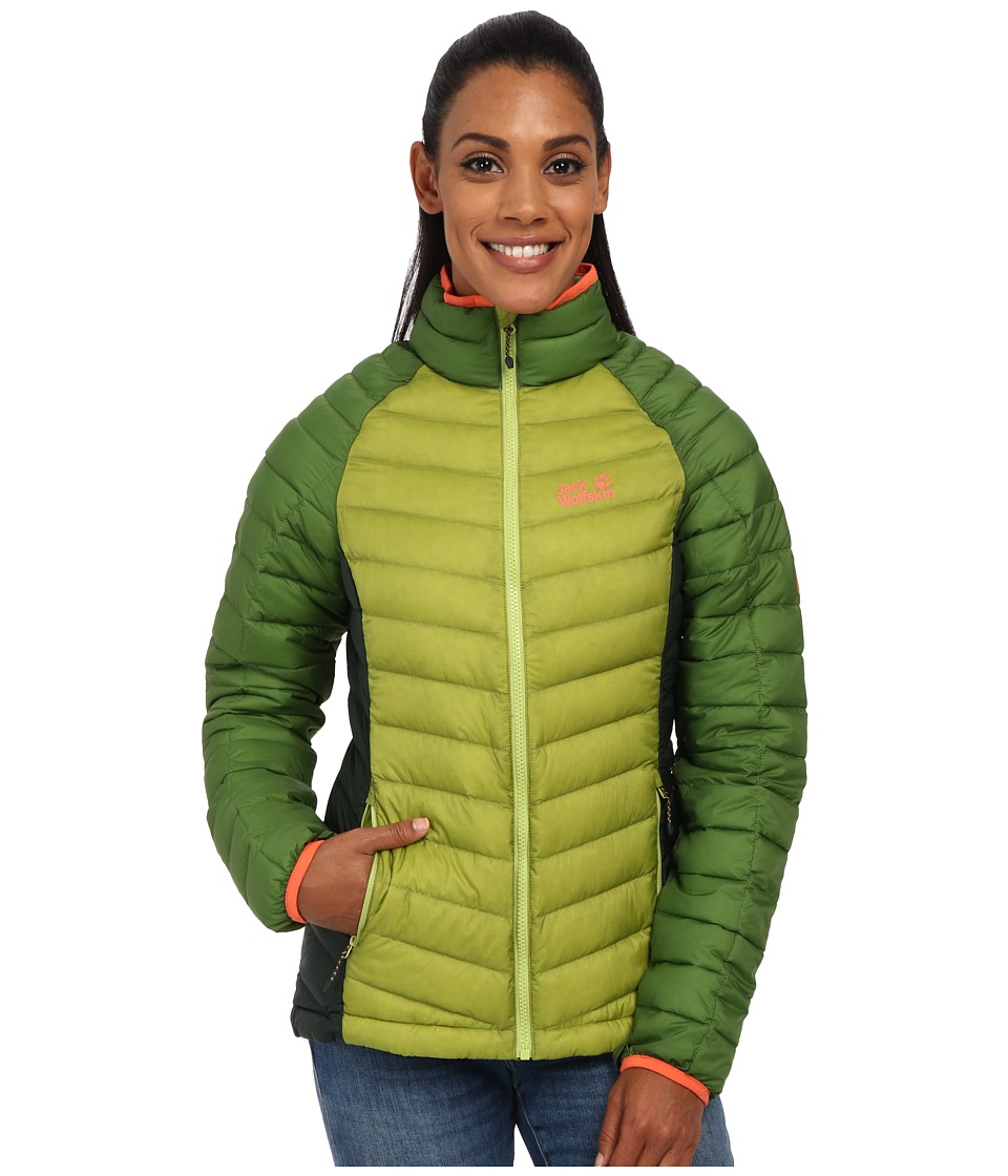 Jack Wolfskin - Zenon Basic Zip-In Jacket (Earl Green) Women