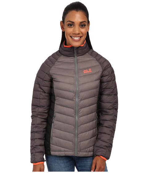 Jack Wolfskin - Zenon Basic Zip-In Jacket (Tarmac Grey) Women's Coat