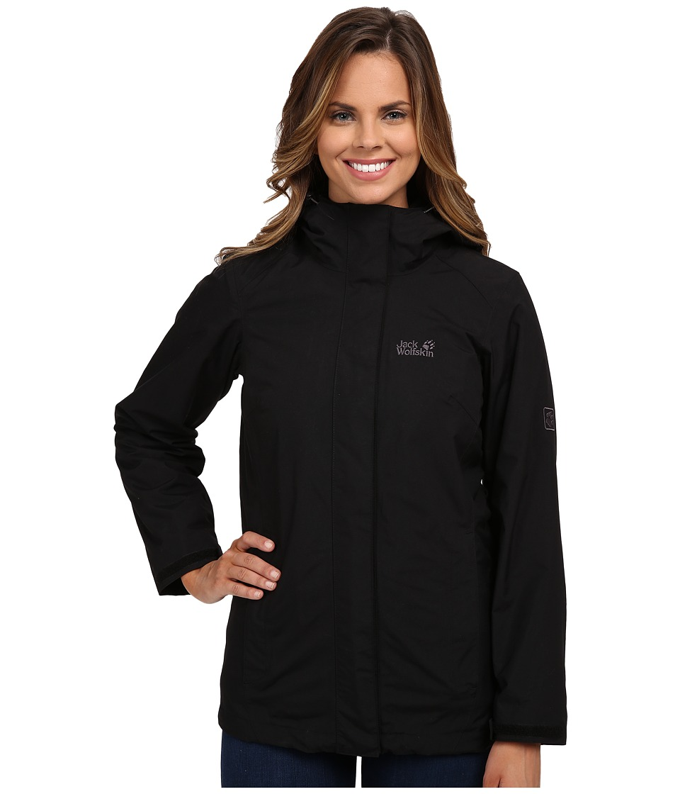 Jack Wolfskin - Iceland Jacket (Black) Women's Coat