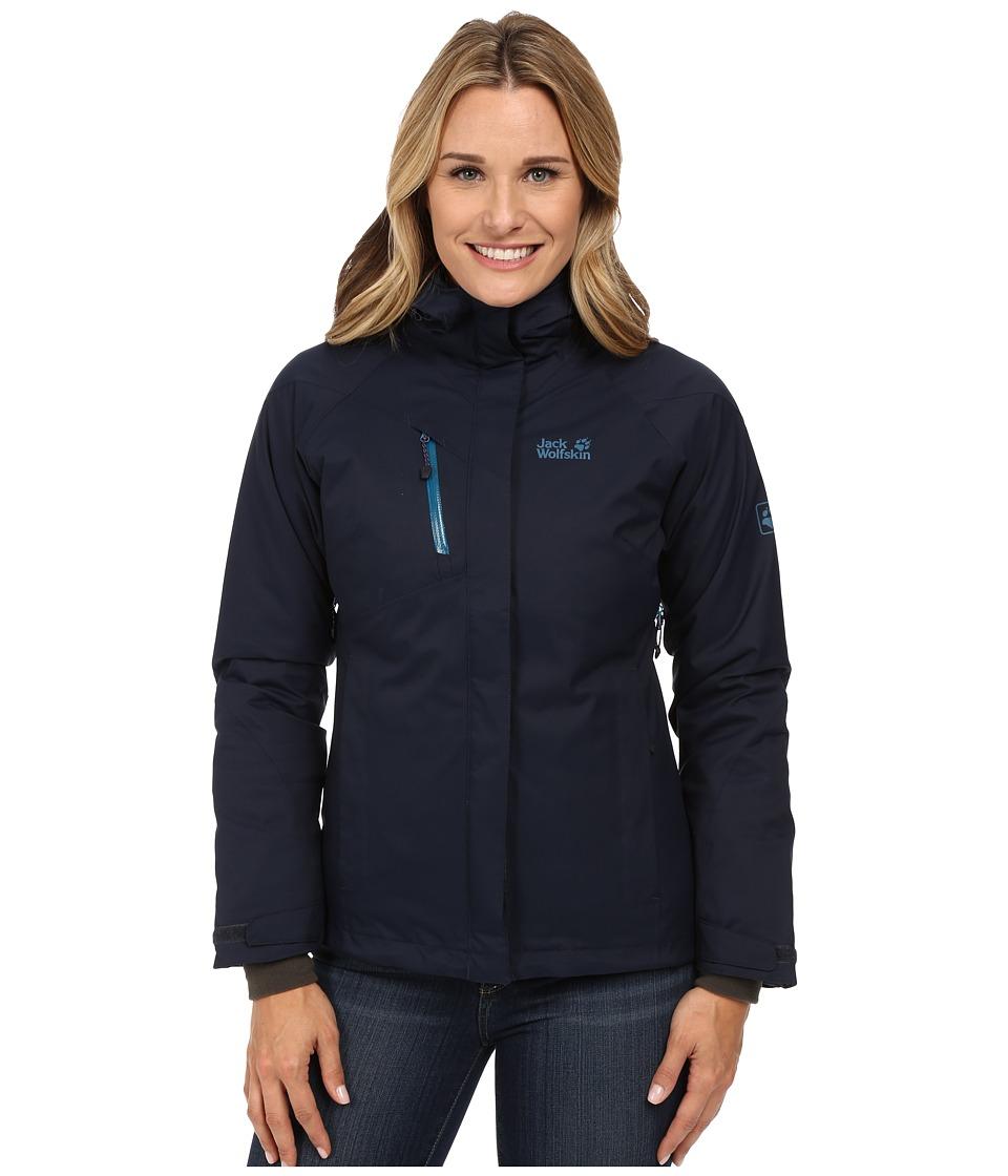 Jack Wolfskin Troposphere DF O2+ Insulated Jacket (Night Blue) Women