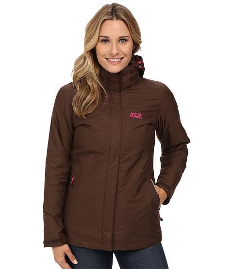 Jack Wolfskin - Arborg Jacket (Mocca 2) Women's Coat