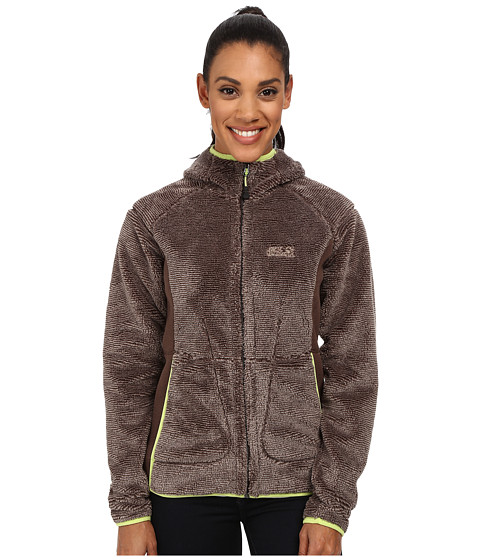 Jack Wolfskin - Pine Cone Jacket (Mocca Stripes) Women's Coat