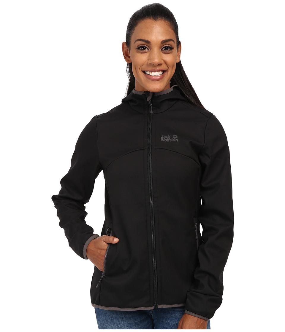 Jack Wolfskin - Glacier Valley II Jacket (Black) Women