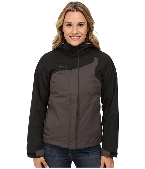 Jack Wolfskin - Cool Wave (Dark Steel) Women's Clothing