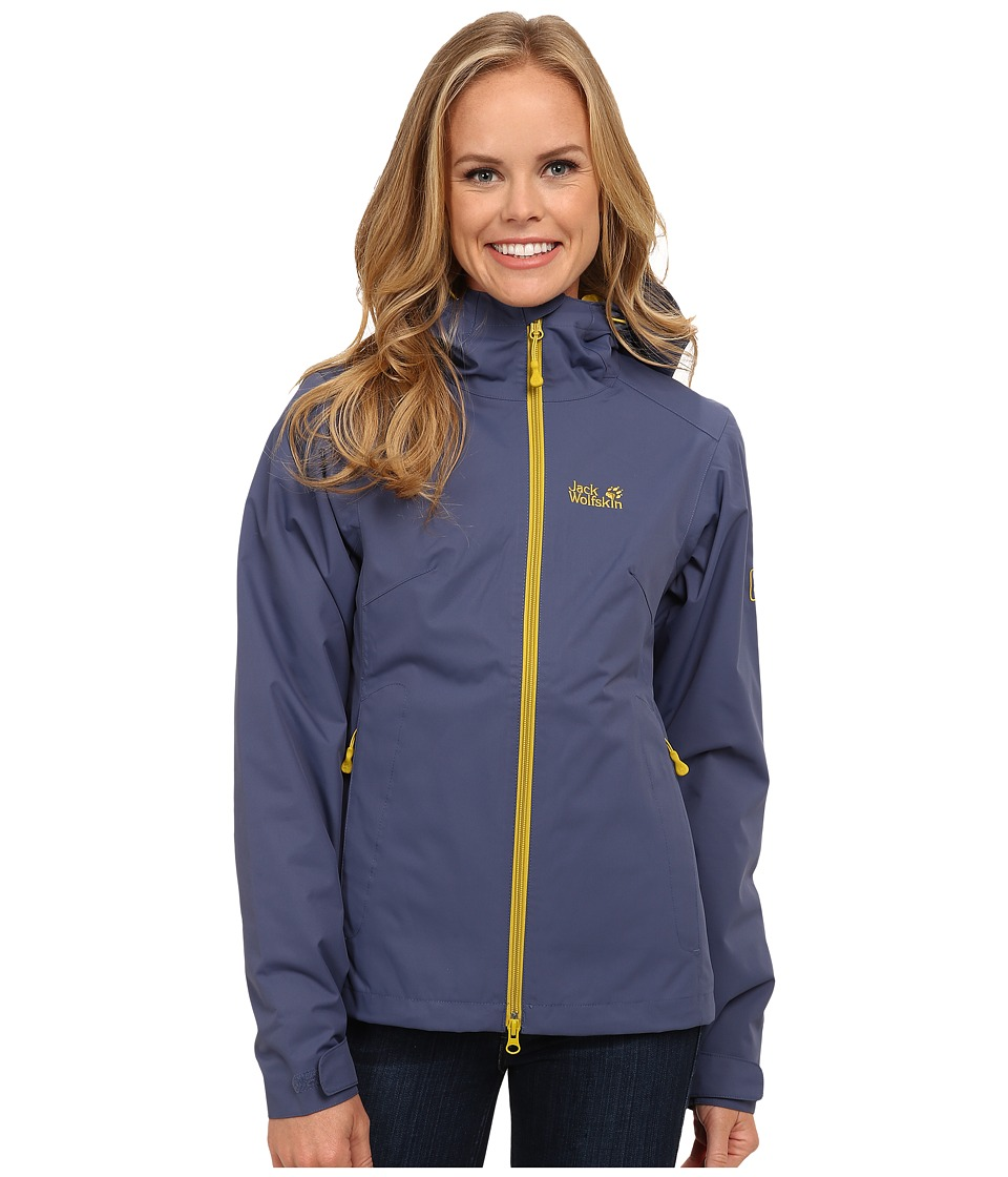 Jack Wolfskin - Chilly Morning (Blue Indigo) Women's Clothing