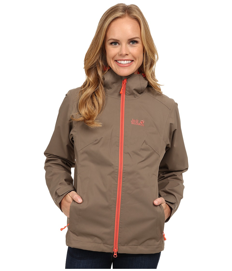 Jack Wolfskin - Chilly Morning (Siltstone) Women's Clothing