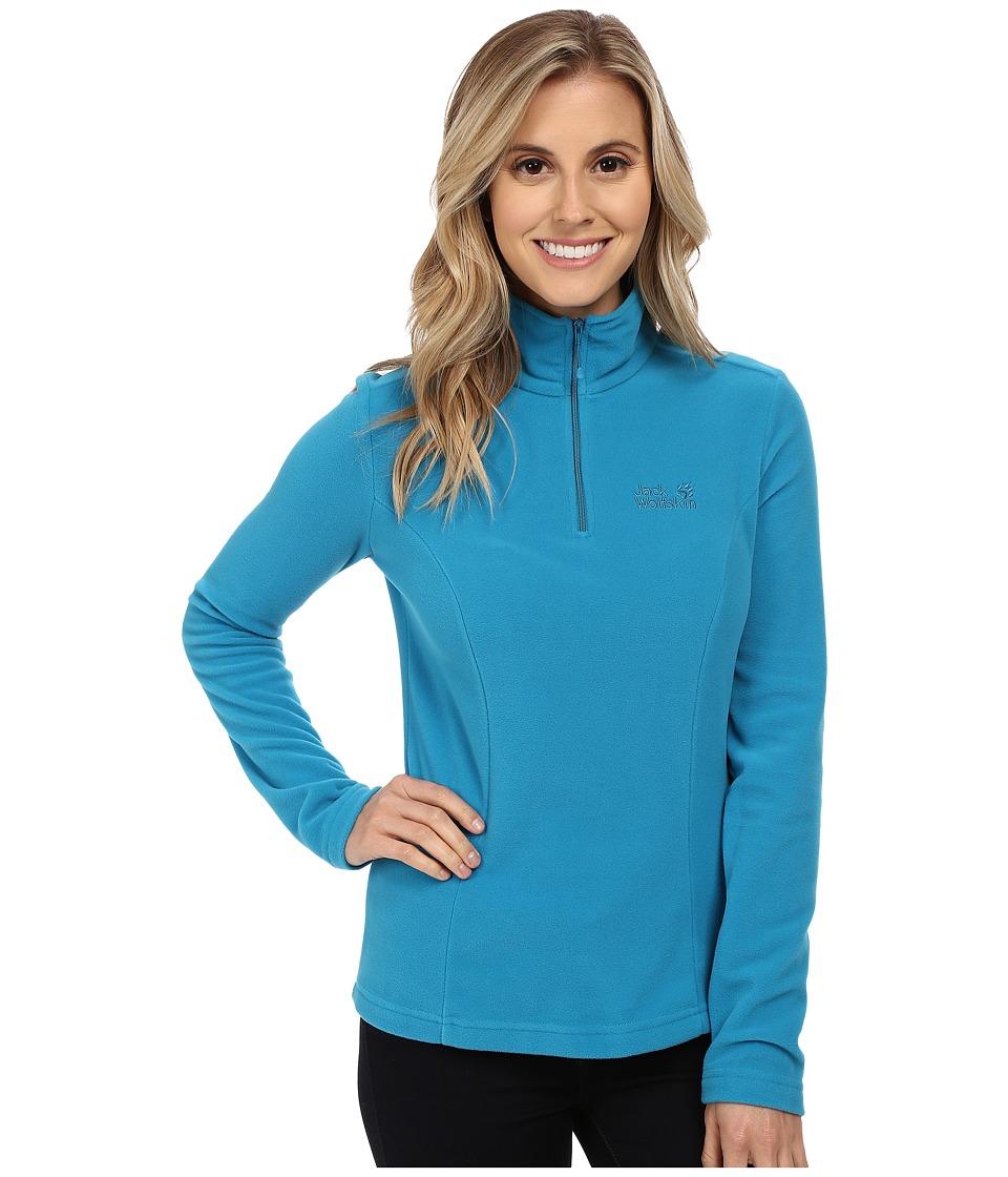 Jack Wolfskin - Gecko (Dark Turquoise) Women's Sweatshirt