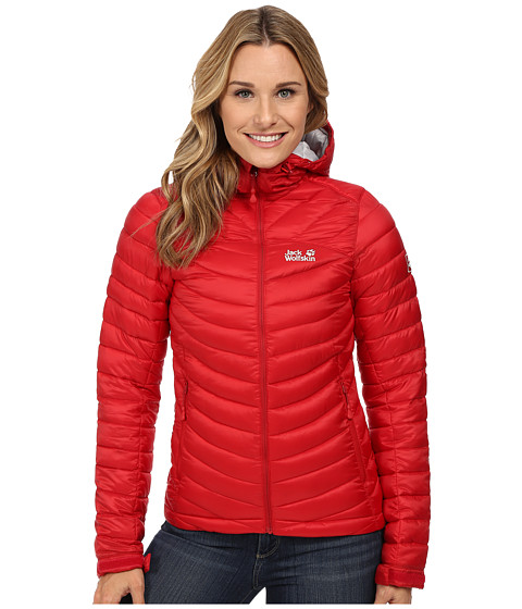Jack Wolfskin - Cumulus Jacket (Indian Red) Women's Coat