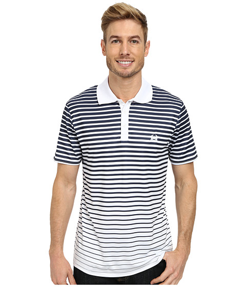 Cinch - Modern Fit Polo Stripe (White) Men